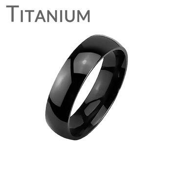 Black Tradition - Titanium Made Simple Yet Classy Black Stylish Wedding Band
