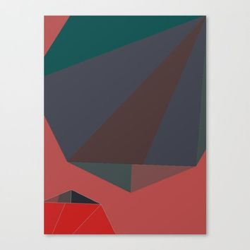 Shape Play 2 Canvas Print by duckyb