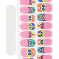 Owl Nail Stickers