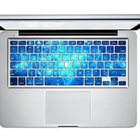 Carry360® Galaxy Series Keyboard Sticker keyboard Macbook decal for MacBook Pro 13 15 17 Inch(MJ-225)
