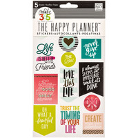 Life Quotes Create 365 Happy Planner Stickers   Hobby Lobby   1240365