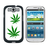 Marijuana Leaf Leaves - Pot Weed Galaxy S3 Case