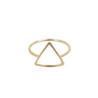 Open Pyramid Ring