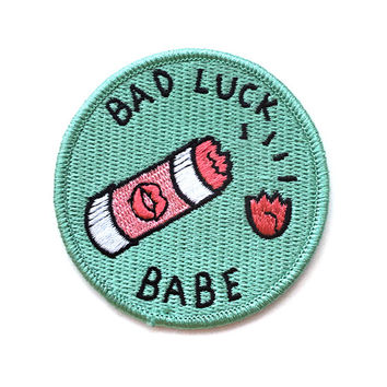 Bad Luck Babe Patch