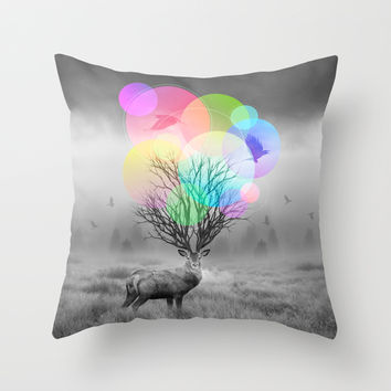 Calm Within the Chaos Throw Pillow by Soaring Anchor Designs   Society6