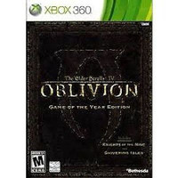 Elder Scrolls IV: Oblivion -- Game of the Year Edition (Xbox 360, 2007) Complete