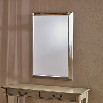 Edna Rectangular Wall Mirror by Christopher Knight Home - Clear - N/A | Overstock.com Shopping - The Best Deals on Mirrors