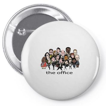 The Office Pin-back button
