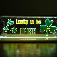 Lucky to be Irish LED light night light room light