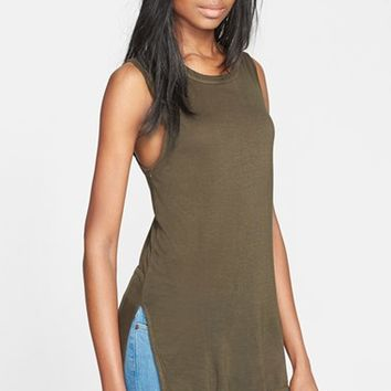 Women's Enza Costa Long Jersey Tank