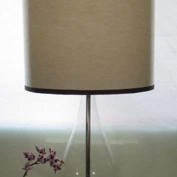 White Paper Lamp Shade Drums