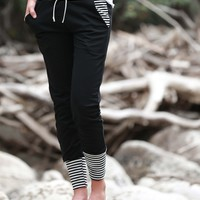 SA Exclusive Black Stripe Joggers