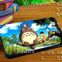 Spirited Away Studio Ghibli - For iphone 4 iphone 5 samsung galaxy s4 / s3 / s2 Case Or Cover Phone.