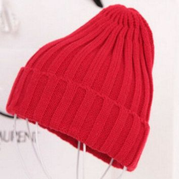 PEAPUNT Free Shipping 2016 New Fashion Winter Quality Acrylic Hat Knitted Hat Pointy Hat For Women/Ladies 19 Colors