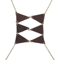 Triangles and Ladders Body Harness