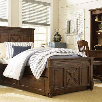 Georgetown Twin Size Panel Bed