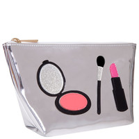 Silver Makeup Armcandy Travel Bag