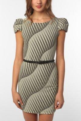 Textured Knit BodyCon Dress