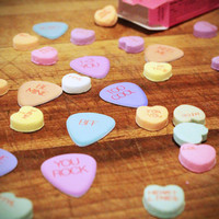 8 Valentines Day guitar picks