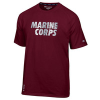 Marine Corps Reflective Chrome Champion Vapor T-Shirt