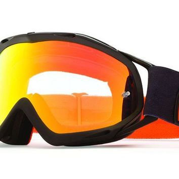 VonZipper - Bushwick XT Orange / Clear Chrome Fade OCC Moto Goggles