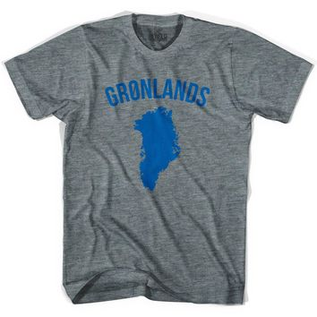Ultras Greenland Gronland Country Soccer T-shirt-Adult