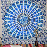 Mandala Indian Tapestry Hippie Wall Hanging Dorm Tapestries Gypsy Queen Bedspread Wall Decorative Art