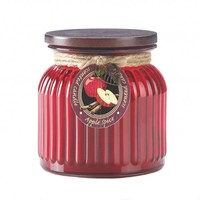 Ribbed Glass Scented Jar Candles - 9 Scents