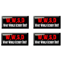 What Would Scooby Doo - Set of 3D Stickers