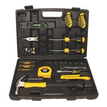 New and Improved Stanley 94-248 65-Piece Homeowner's Tool Kit New