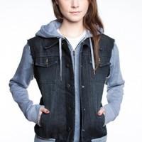 Glamour Kills Clothing - Girls The Search Party Denim Jacket