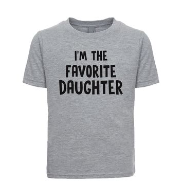 I'm The Favorite Daughter Unisex Kid's Tee