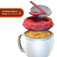 Stay Fit Soup/Meal Container , EZ Heat:Amazon:Kitchen & Dining