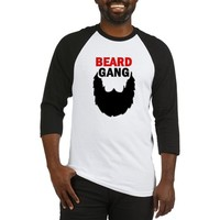 Beard Gang | Men with Beards Baseball Jersey