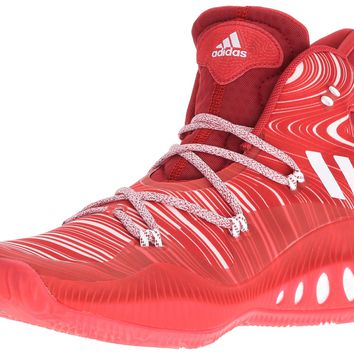 adidas Performance Men's Crazy Explosive Basketball Shoe Scarlet/White/University Red