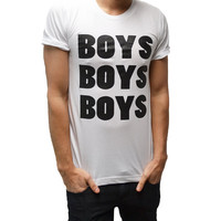 BOYS BOYS BOYS T-shirt White