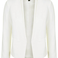 Double Collar Blazer - Ivory