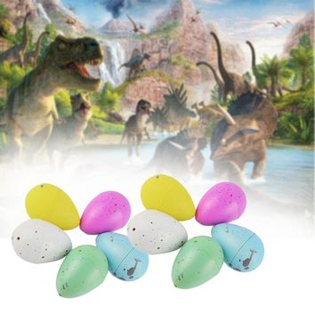 10x Hatching Dinosaur Eggs Growing Dino Eggs Add Water Magic Inflatable Toy To kids gifts
