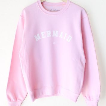 Mermaid IRL Oversized Sweatshirt