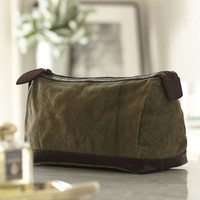 Union Canvas Toiletry Case