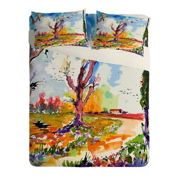 Ginette Fine Art Autumn Birds Migration Sheet Set Lightweight