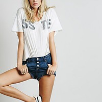 Free People Womens Buttonfront