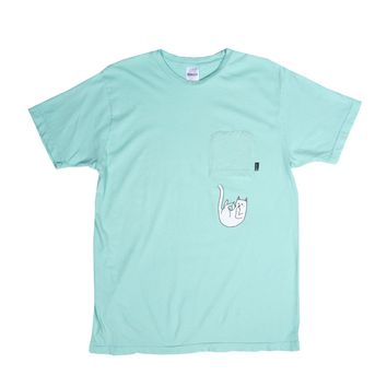 Falling For Nermal Pocket Tee (Mint)
