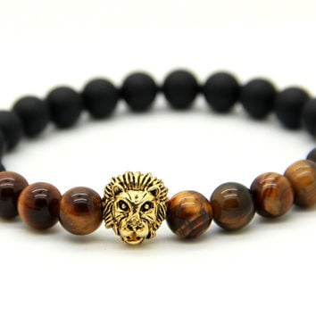 Savannah Tiger Eye Bracelet