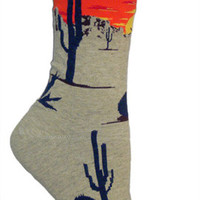 Desert Sunset Socks