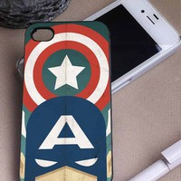 Captain America | Marvel The Avengers | iPhone 4 4S 5 5S 5C 6 6+ Case | Samsung Galaxy S3 S4 S5 Cover | HTC Cases