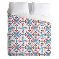 Belle13 Retro Floral Pattern Duvet Cover | DENY Designs Home Accessories
