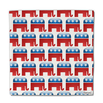 "Republican Symbol All Over Micro Fleece 14""x14"" Pillow Sham All Over Print"