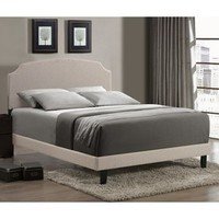 Walmart: Lawler Upholstered Low Profile Bed
