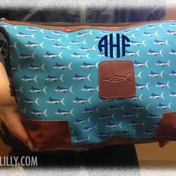 Personalized Men's Golf Large Toiletry Bag